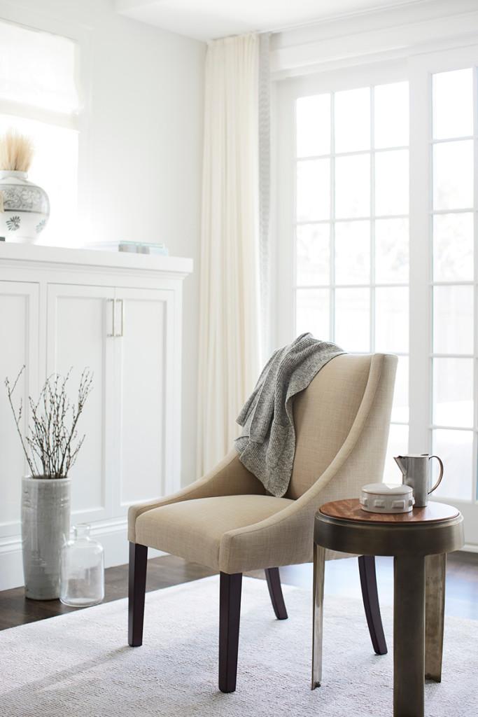 interior design, accent furniture, still life photography