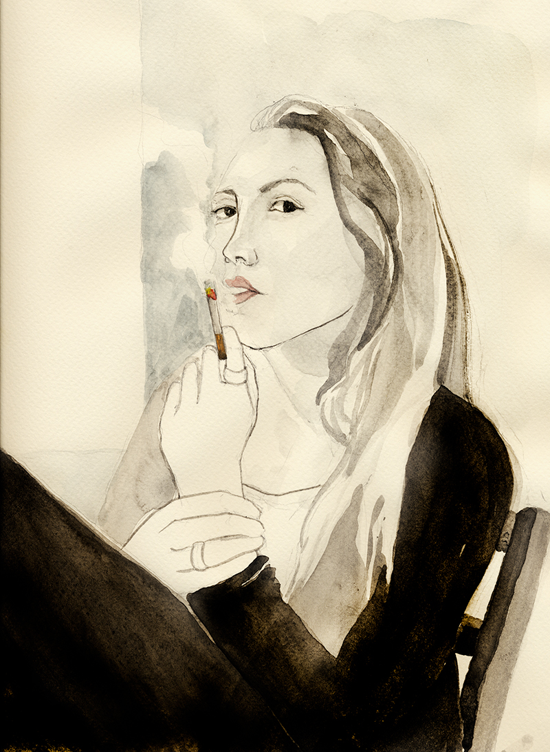 coco connolly, drawing a day, portraits of artists